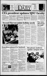 Spartan Daily, December 3, 1993 by San Jose State University, School of Journalism and Mass Communications