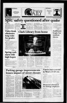 Spartan Daily, January 26, 1994 by San Jose State University, School of Journalism and Mass Communications
