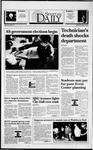 Spartan Daily, March 16, 1994 by San Jose State University, School of Journalism and Mass Communications