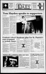 Spartan Daily, March 17, 1994 by San Jose State University, School of Journalism and Mass Communications