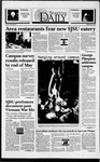 Spartan Daily, April 8, 1994 by San Jose State University, School of Journalism and Mass Communications