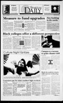 Spartan Daily, April 18, 1994 by San Jose State University, School of Journalism and Mass Communications