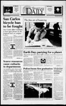 Spartan Daily, April 20, 1994 by San Jose State University, School of Journalism and Mass Communications