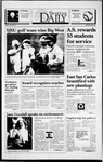 Spartan Daily, April 25, 1994 by San Jose State University, School of Journalism and Mass Communications