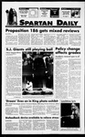 Spartan Daily, September 8, 1994 by San Jose State University, School of Journalism and Mass Communications