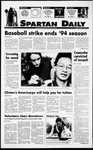 Spartan Daily, September 15, 1994 by San Jose State University, School of Journalism and Mass Communications