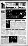 Spartan Daily, September 19, 1994 by San Jose State University, School of Journalism and Mass Communications