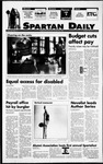 Spartan Daily, September 22, 1994 by San Jose State University, School of Journalism and Mass Communications