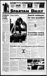 Spartan Daily, October 3, 1994 by San Jose State University, School of Journalism and Mass Communications