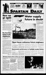Spartan Daily, October 21, 1994 by San Jose State University, School of Journalism and Mass Communications
