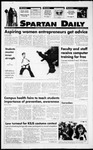 Spartan Daily, November 1, 1994 by San Jose State University, School of Journalism and Mass Communications