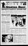Spartan Daily, November 7, 1994 by San Jose State University, School of Journalism and Mass Communications