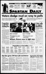 Spartan Daily, November 8, 1994 by San Jose State University, School of Journalism and Mass Communications