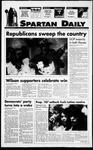 Spartan Daily, November 9, 1994 by San Jose State University, School of Journalism and Mass Communications