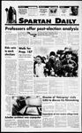 Spartan Daily, November 10, 1994 by San Jose State University, School of Journalism and Mass Communications