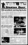 Spartan Daily, November 18, 1994 by San Jose State University, School of Journalism and Mass Communications