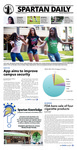 Spartan Daily, September 24, 2015 by San Jose State University, School of Journalism and Mass Communications