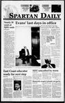 Spartan Daily, January 25, 1995 by San Jose State University, School of Journalism and Mass Communications