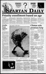 Spartan Daily, January 31, 1995 by San Jose State University, School of Journalism and Mass Communications