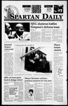 Spartan Daily, February 2, 1995 by San Jose State University, School of Journalism and Mass Communications