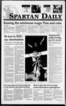 Spartan Daily, February 7, 1995 by San Jose State University, School of Journalism and Mass Communications