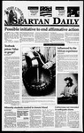 Spartan Daily, February 13, 1995 by San Jose State University, School of Journalism and Mass Communications