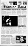 Spartan Daily, February 23, 1995 by San Jose State University, School of Journalism and Mass Communications
