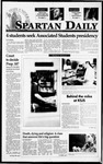 Spartan Daily, March 3, 1995 by San Jose State University, School of Journalism and Mass Communications
