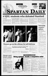 Spartan Daily, March 8, 1995 by San Jose State University, School of Journalism and Mass Communications