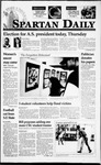 Spartan Daily, March 15, 1995 by San Jose State University, School of Journalism and Mass Communications