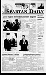 Spartan Daily, March 16, 1995 by San Jose State University, School of Journalism and Mass Communications