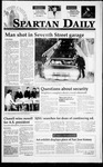 Spartan Daily, March 20, 1995 by San Jose State University, School of Journalism and Mass Communications