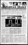 Spartan Daily, March 23, 1995 by San Jose State University, School of Journalism and Mass Communications