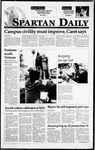 Spartan Daily, April 4, 1995 by San Jose State University, School of Journalism and Mass Communications
