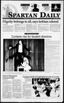 Spartan Daily, April 7, 1995 by San Jose State University, School of Journalism and Mass Communications