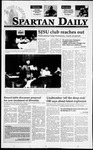 Spartan Daily, April 26, 1995 by San Jose State University, School of Journalism and Mass Communications