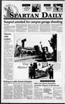 Spartan Daily, May 8, 1995 by San Jose State University, School of Journalism and Mass Communications