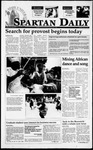 Spartan Daily, May 15, 1995 by San Jose State University, School of Journalism and Mass Communications