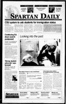 Spartan Daily, September 1, 1995 by San Jose State University, School of Journalism and Mass Communications