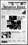 Spartan Daily, September 7, 1995 by San Jose State University, School of Journalism and Mass Communications