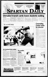 Spartan Daily, September 8, 1995 by San Jose State University, School of Journalism and Mass Communications