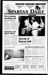 Spartan Daily, September 11, 1995 by San Jose State University, School of Journalism and Mass Communications