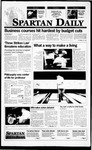 Spartan Daily, September 15, 1995 by San Jose State University, School of Journalism and Mass Communications