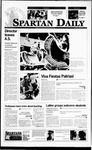 Spartan Daily, September 18, 1995 by San Jose State University, School of Journalism and Mass Communications