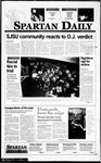 Spartan Daily, October 4, 1995