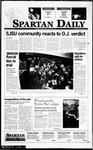 Spartan Daily, October 4, 1995