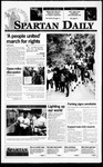 Spartan Daily, October 17, 1995 by San Jose State University, School of Journalism and Mass Communications