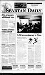 Spartan Daily, October 18, 1995 by San Jose State University, School of Journalism and Mass Communications