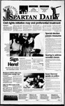 Spartan Daily, October 23, 1995 by San Jose State University, School of Journalism and Mass Communications