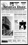 Spartan Daily, October 24, 1995 by San Jose State University, School of Journalism and Mass Communications